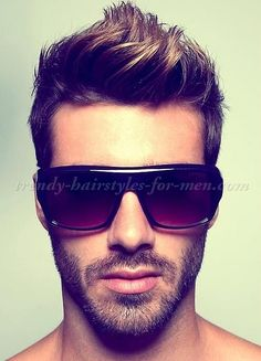 faux hawk hairstyle for men More