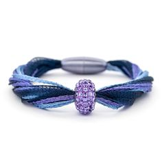 Blueberry Variation 3 Bracelet | Fusion Beads Inspiration Gallery