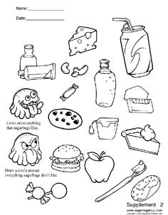 printable dental coloring pages