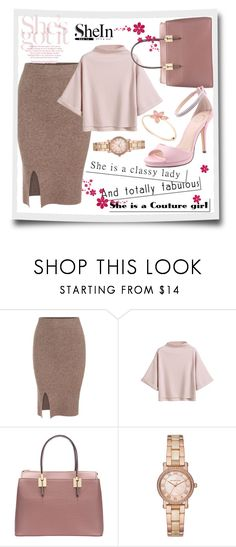 """""""Shein4"""" by adelisa56 ❤ liked on Polyvore featuring Michael Kors, I. MILLER and shein"""