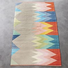 featherbottom rug | CB2 3'x5', 5'x8', 8'x10'