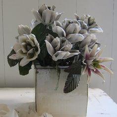 Vintage Ceramic Flowers