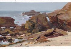 SydWiki!: Gouache landscape painting with Mike Hernandez