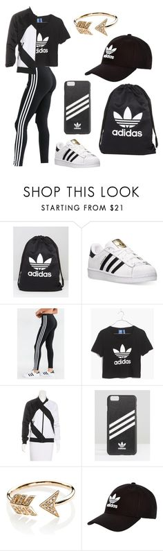 """Untitled #13"" by sui-ngun-thlia ❤ liked on Polyvore featuring adidas, Madewell, adidas Originals and EF Collection"