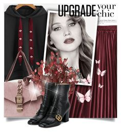 """Untitled #852"" by beautifulplace ❤ liked on Polyvore featuring Gucci"