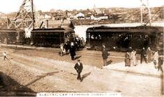 COBALT, Ontario - Nipissing Central Railway electric car terminal Ontario, Train Stations, Canada, Electric Car, Architecture, Cobalt, Architecture Illustrations