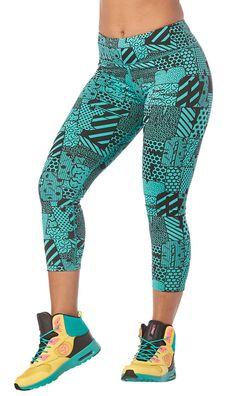 Zumba Happiness Crop Leggings | Zumba Fitness Shop Zumba Strong, Zumba Clothes, Zumba Outfit, Zumba Fitness, Leggings, My Girl, Harem Pants, Happiness, Workout