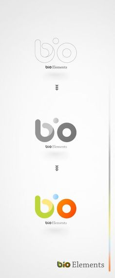 + Design gráfico : Identidade visual da Bio Elements, desenvolvido por Daniel H. Design Grafico, Typo Logo, Graphic Design Logo, Identity Design, Graphic Design Inspiration, Great Logos, Design, Branding Design