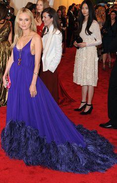 Diane Kruger - Met Gala 2012 / Photo by Keystone Press