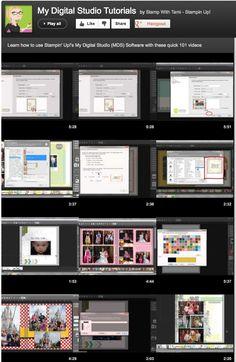 Stampin' Up! My Digital Studio Playlist