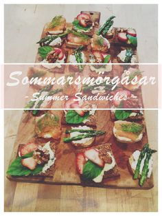 Sommarsmörgåsar (Summer Sandwiches) -