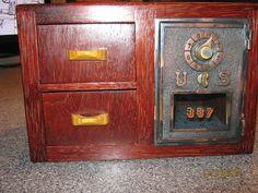 Post Office Box Bank / Jewelry Box by woodstalkshop on Etsy, $150.00