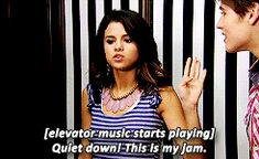 Selena Gomez as Alex Russo in Wizards Of Waverly Place.