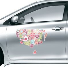 Solid Color Flowers Drawing Plants Birds Car Sticker on Car Styling Decal Motorcycle Stickers for Car Accessories Gift #Carsticker #Flowers #Carstyling #DecorativePattern #Carcovers #Plants #Caraccessories #Pattern #Sticker #Birds #CarDecoration #Animal #Cardecals #vinyl #Removable