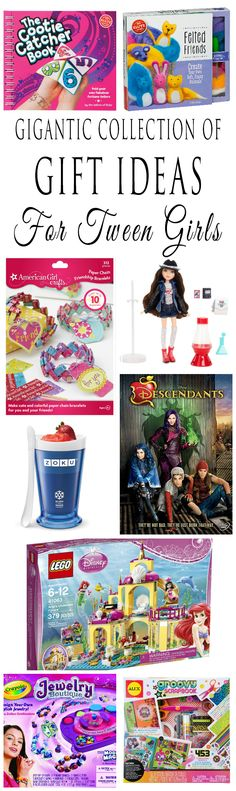 Gigantic Collection Of Gift Ideas For Tween Girls | Toys, Books, Movies, S.T.E.M. Toys, Games, Craft Kits And More