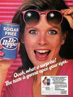 I remember when it was called Sugar Free Dr. Pepper before they changed it to Diet Dr Pepper.