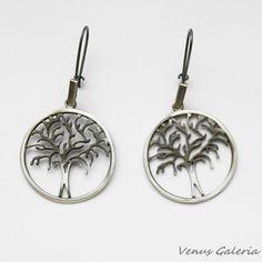 Kolczyki srebrne - Drzewka ażurowe - Sklep internetowy z biżuterią srebrną