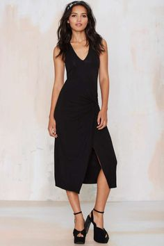 Forget You Knot Maxi Dress