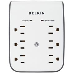 6-Outlet Surge Protector with 2 USB Ports - BELKIN - BV106050-CW