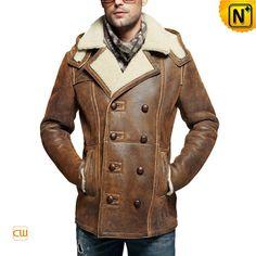 Winter Sheepskin Jacket Mens | Melchi &quotMajor Mathmatix&quot Jones