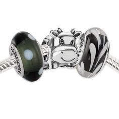 Pandora Holy Cow! Set I need a cute cow bead.