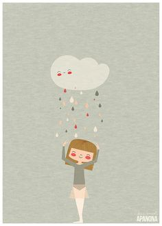 Cute ballet illustration. I'm not a dancer, but this ballet illustration makes me smile.