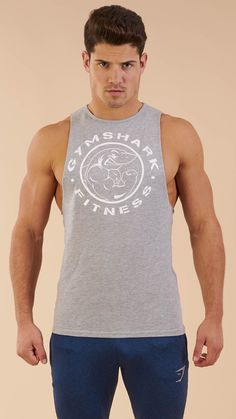 9922e5bdecde0 The Men s Fitness Drop Armhole tank is the simple cotton tank you will live  in