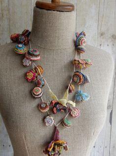 """Pop Up"" Necklace – French Needlework Kits, Cross Stitch, Embroidery, Sophie Digard – The French Needle"