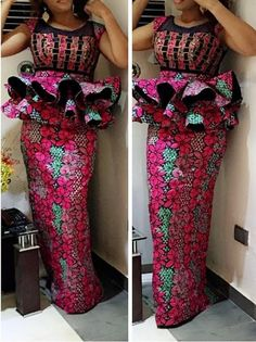 African Lace Styles, African Traditional Dresses, Latest African Fashion Dresses, African Print Dresses, African Dresses For Women, African Attire, Ankara Fashion, African Prints, African Style
