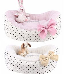 Pet Beds- Puppy Beds Cute & Cozy | Talia Dog Boutique
