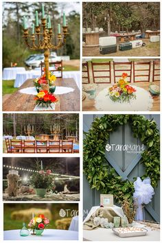 Outdoor do it yourself wedding