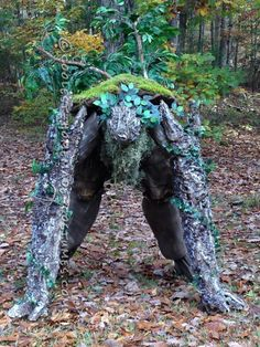 Cool DIY Lord of the Rings Tree Ent (Tree Monster) Costume...