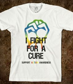 Autism Fight For Cure Shirt