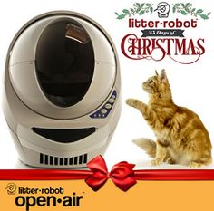 The Litter-Robot 25 Days of Christmas Sweepstakes on http://hunt4freebies.com