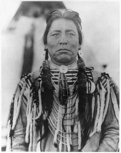 Two Guns White Calf, the Blackfeet Indian Chief whose face is on the Buffalo nickel.