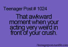 Teenager+Post+Awkward+Moments | awkward moment, crush, funny, teenager post, teenagers - image #271725 ...