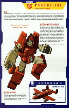 Transformers Universe - Gallery: G1 Powerglide