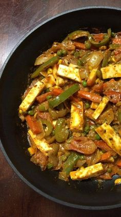 Veg paneer bahara is simpe to make recipe for quick delicious meals and a must try. Takes just minutes to prepare and can be enjoyed with roti or rice. Paneer Dishes, Veg Dishes, Food Dishes, Mix Vegetable Recipe, Vegetable Recipes, Recipe Of Mix Veg, Veg Food Recipes, Cake Recipes, Curry Recipes