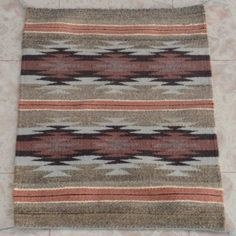 Chinle Stars Wool Rug 25076