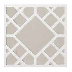 @Overstock - Anakin White Skywalker Square Mirror - This unique Anakin mirror features a beautiful lattice design constructed of wood framing. Add a pop of sleekness to any decor setting with this square mirror finished in glossy white.    http://www.overstock.com/Home-Garden/Anakin-White-Skywalker-Square-Mirror/8015373/product.html?CID=214117  $69.99