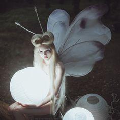 Moth by AnitaAnti - Fairies - Fée - Fee- Fe - Hadas - Fairy - 妖精 - älva - фея - keijukainen - परी - 요정 - 仙女 - fata - tylwyth teg -tündér Hallowen Costume, Halloween, Costume Ideas, Creative Photography, Portrait Photography, Fairy Photography, Beautiful Fairies, Portraits, Faeries