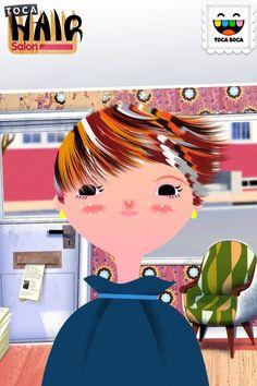 Toca Boca hair salon