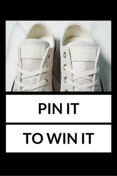 PLEASE NOTE: THIS COMPETITION HAS NOW ENDED! Who's got that ‪#‎FridayFeeling‬? This week we're giving away a gorgeous pair of Converse! To be in with a chance of winning, just simply re-pin this post, follow us and comment telling us why we should pick you! #freebiefriday #pinterestcompetiton *Subject to availability. Competition closes at 5pm. Winner announced on our Facebook page on.fb.me/1NFgX83