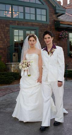 lesbian wedding dresses