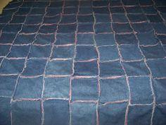 Denim rag quilt that I will someday do.