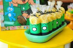 30 Lembrancinhas para Festa Turma da Mônica Happy Birthday B, Baby Birthday, Party Decoration, Music Party, Lego Ninjago, Alice, Cake, Kids, 30