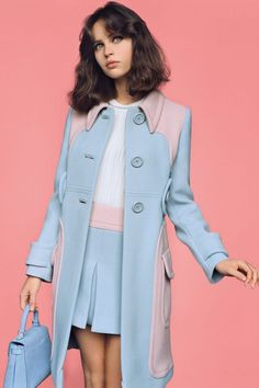 rose quartz and serenity colored outfit So freaking cute!