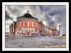 This is an awesome HDR image of Salubrious & Wind Street in Swansea by John B Davies