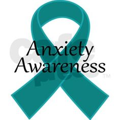 Symbol for Anxiety Awareness: Teal Ribbon