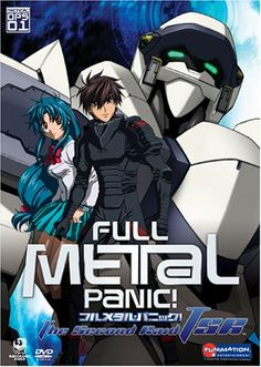 Fullmetal Panic. Sagara is a member of the mercenary group Mithril, assigned to guard Kaname. #fullmetal #anime #manga